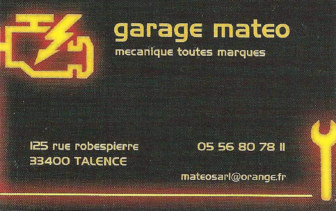 Garage Mateo Talence