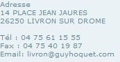 Guy Hoquet Adresse