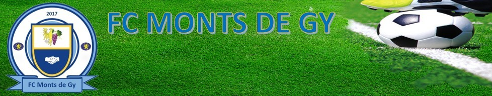FC Monts de GY : site officiel du club de foot de GY - footeo