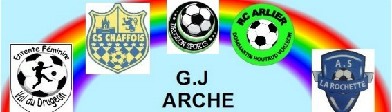 Groupement jeune de l'ARCHE : site officiel du club de foot de Chaffois - footeo