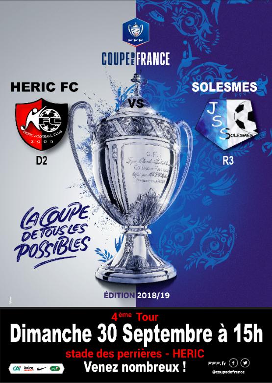 Coupe de France 30 09 2018