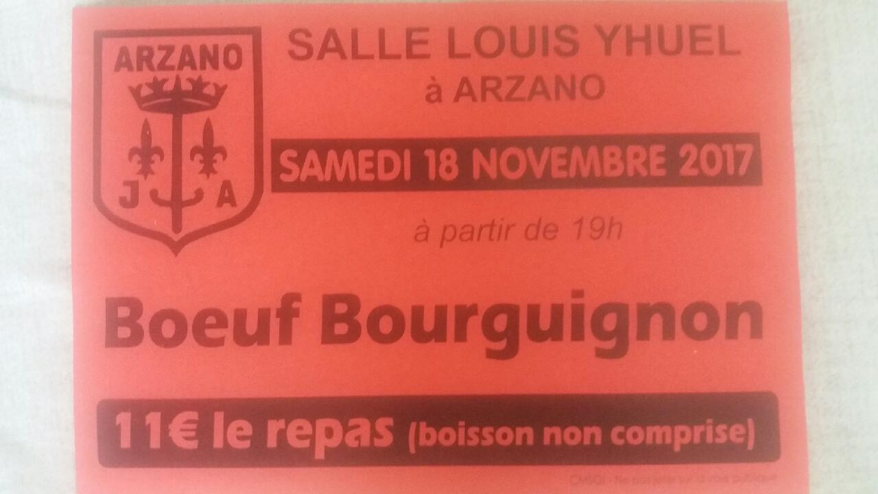 BOEUF BOURGUIGNON - 18/11/17