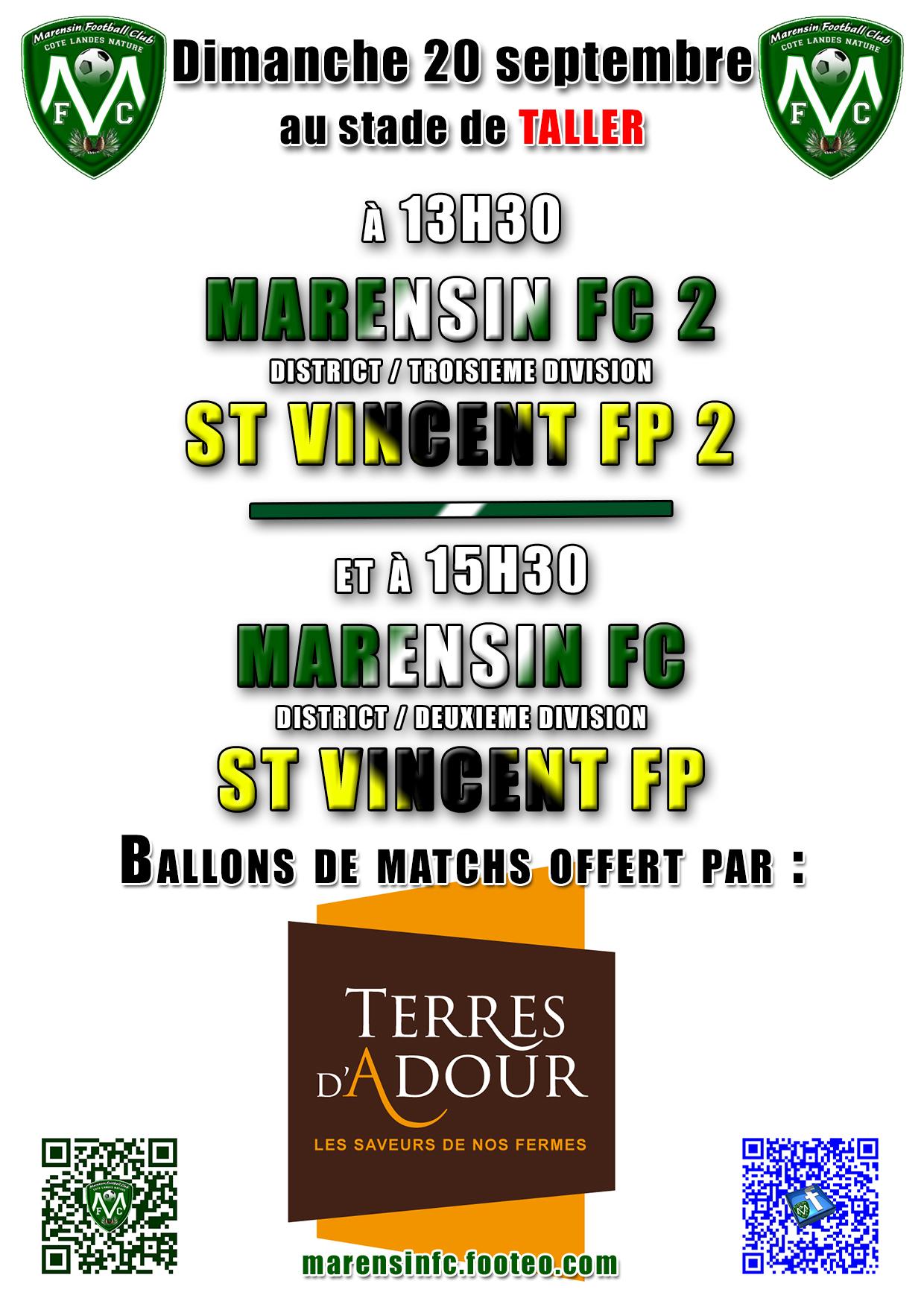 TERRE D'ADOUR partenaire football MARENSIN FC