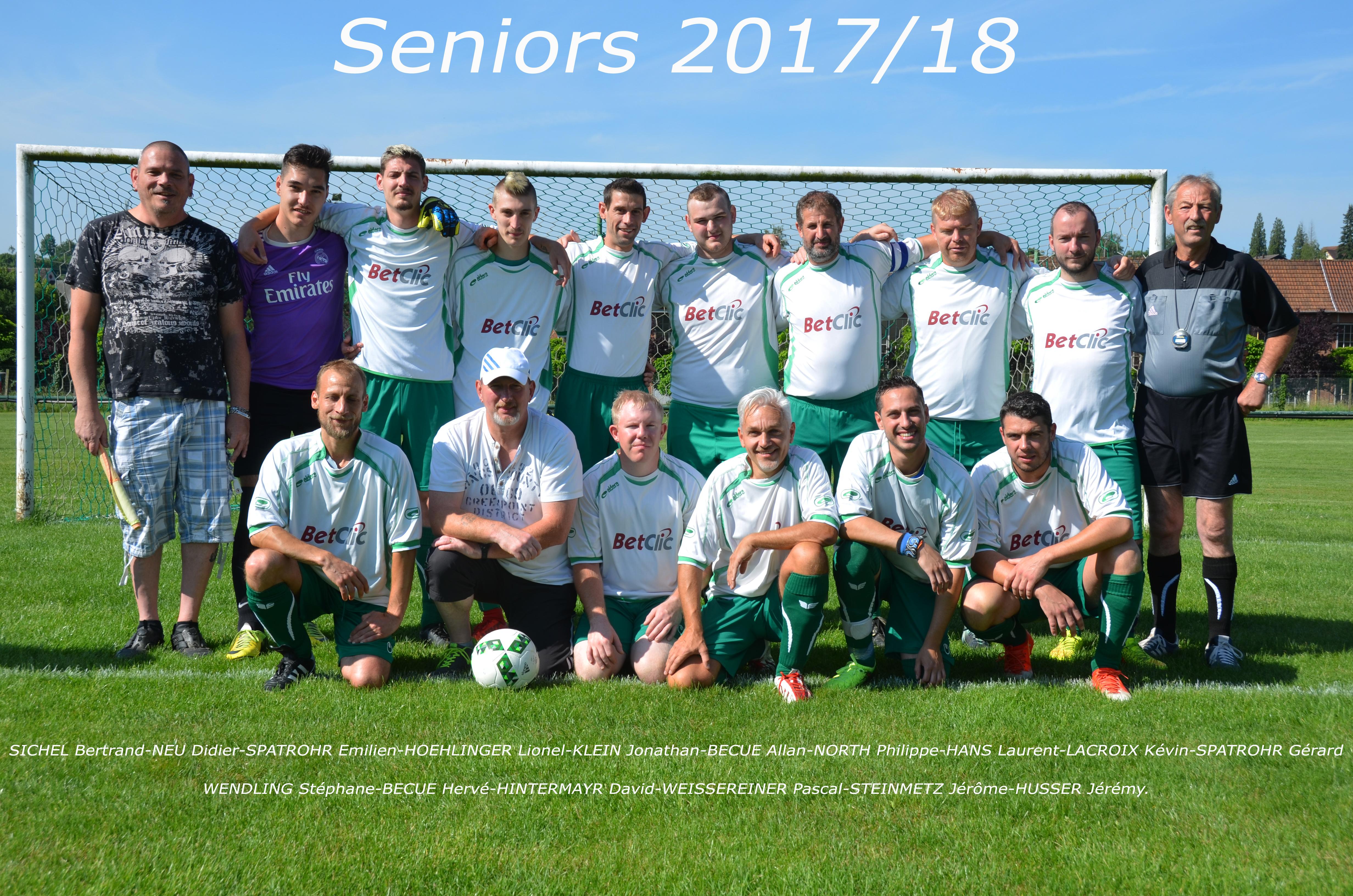 Seniors OLZ 2017/18
