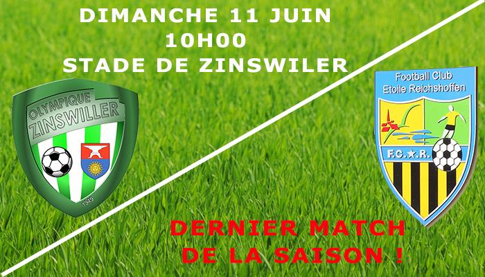Dernier match de la saison 2016/17