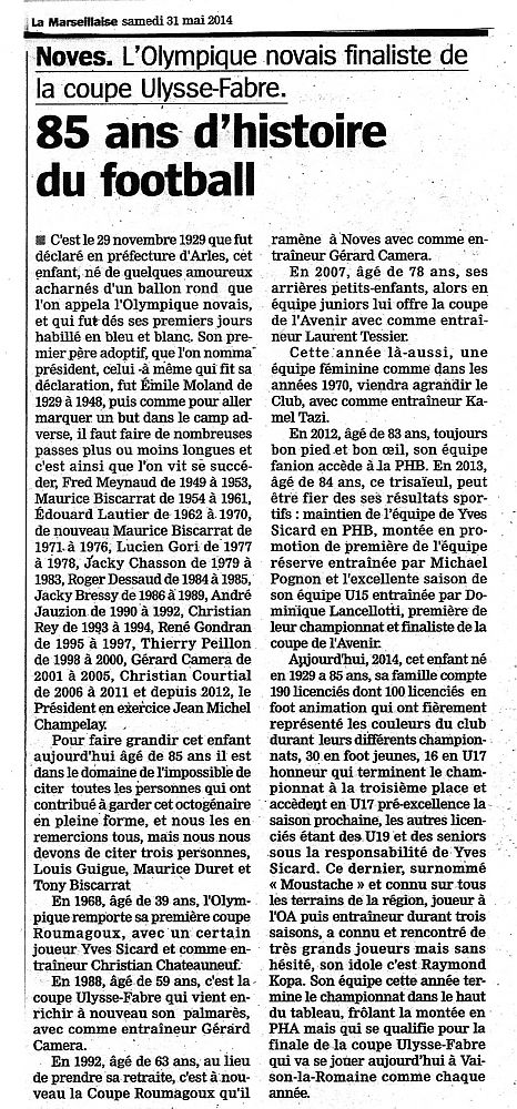 """LA MARSEILLAISE"" René Gondran"