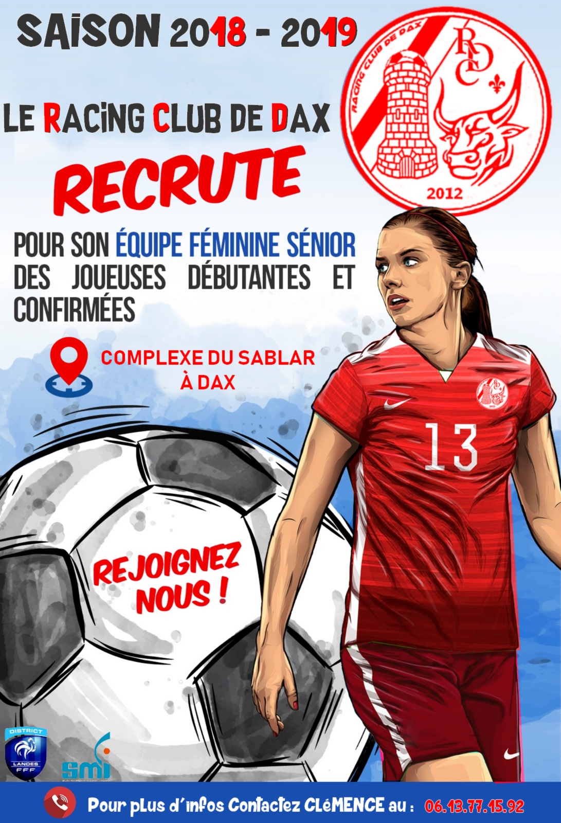 Recrutement Séniors Féminines