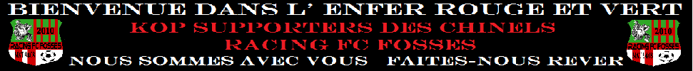 RACING FC FOSSES : site officiel du club de foot de Fosses-la-Ville - footeo