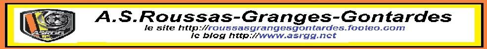 A.S.Roussas-Granges-Gontardes : site officiel du club de foot de ROUSSAS - footeo