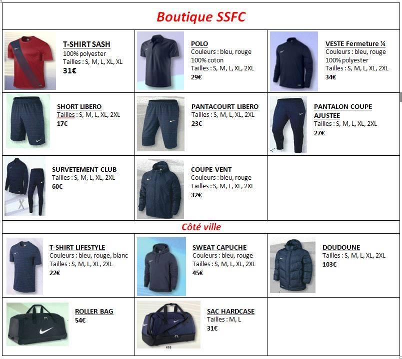 Nouvelle boutique Nike disponible pour la saison prochaine