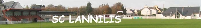 SPORTING CLUB LANNILIS : site officiel du club de foot de LANNILIS - footeo