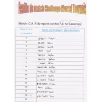 Composition du F.C.S.G