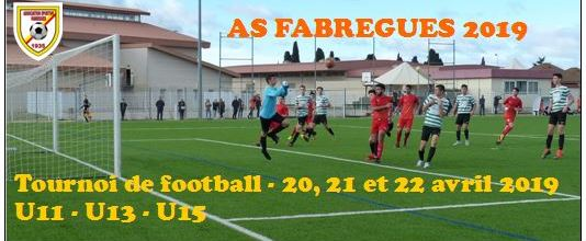 AS FABREGUES : site officiel du tournoi de foot de Fabrègues - footeo