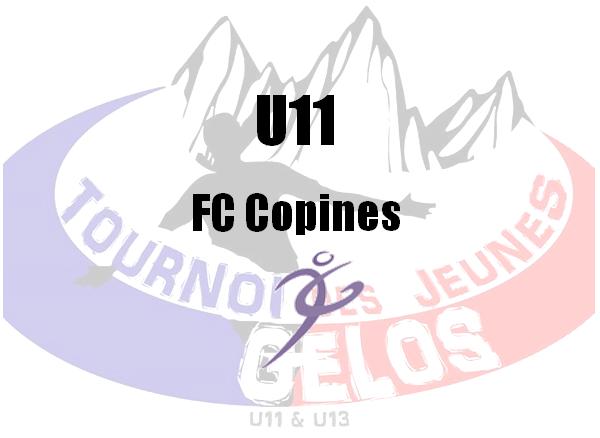 U11 : FC Copines