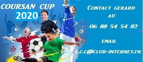 COURSAN CUP 2019 : site officiel du tournoi de foot de COURSAN - footeo