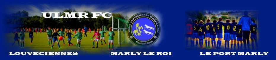 Union Louveciennes Marly-Le-Roi F.C : site officiel du club de foot de Louveciennes - footeo