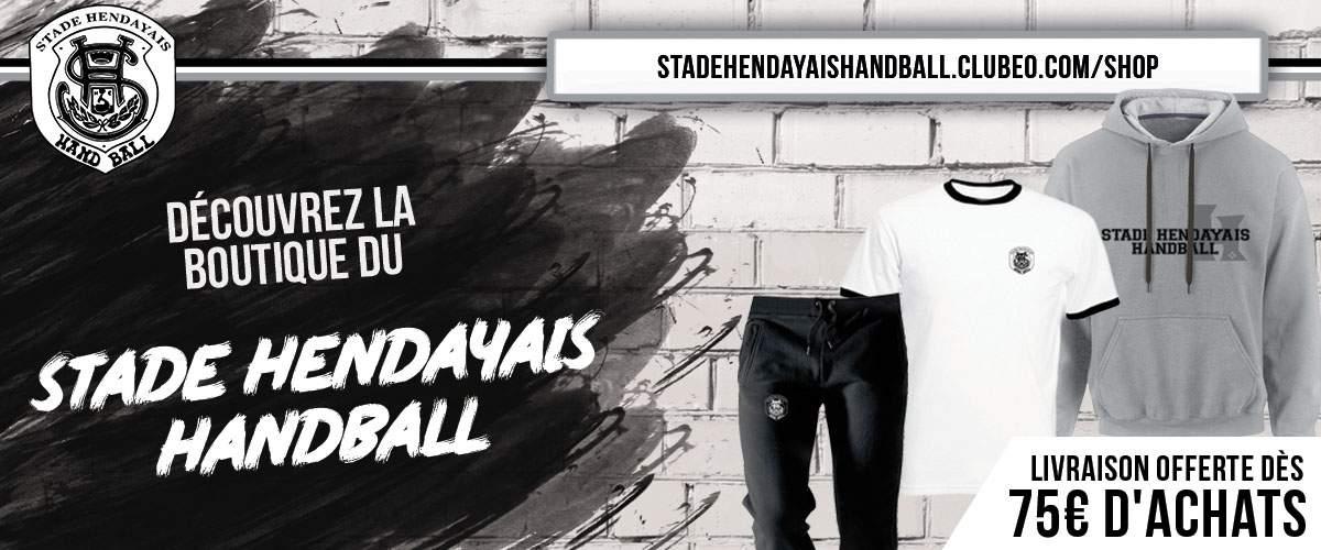 La Officielle Stade Handball Hendayais Boutique 9WDHYEI2