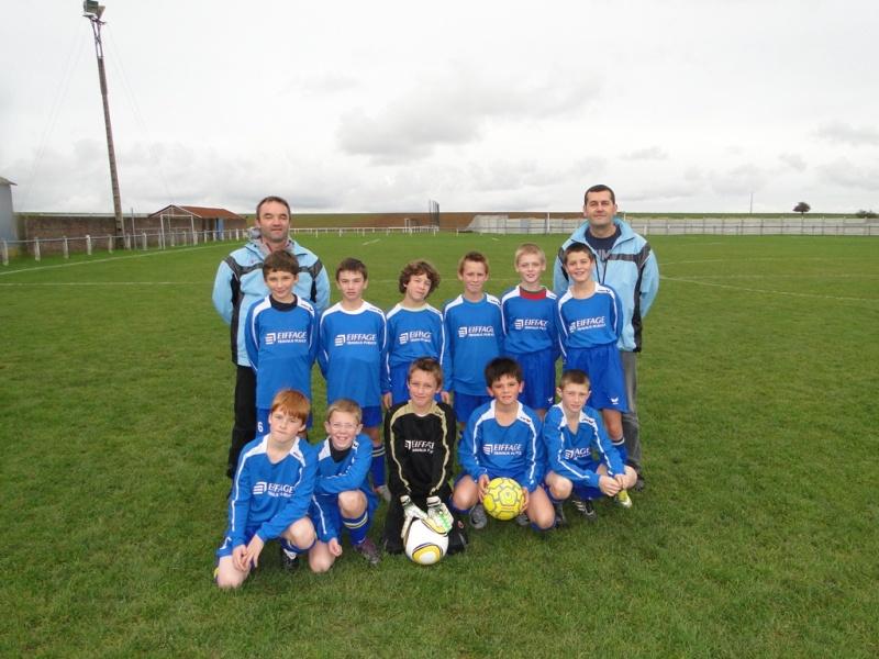 equipe U12/U13 2010