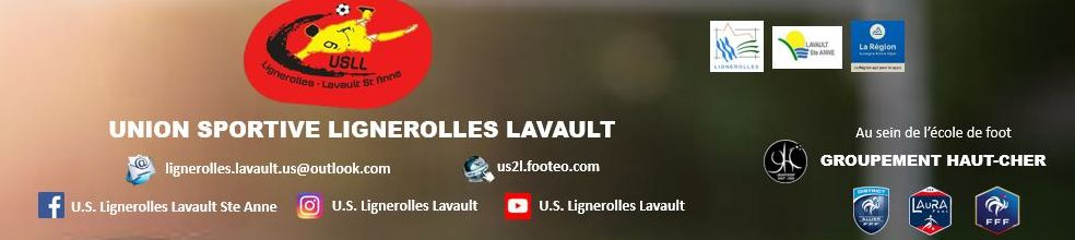 UNION SPORTIVE LIGNEROLLES LAVAULT STE ANNE : site officiel du club de foot de LIGNEROLLES - footeo