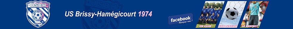 UNION SPORTIVE DE BRISSY-HAMÉGICOURT : site officiel du club de foot de BRISSY HAMEGICOURT - footeo