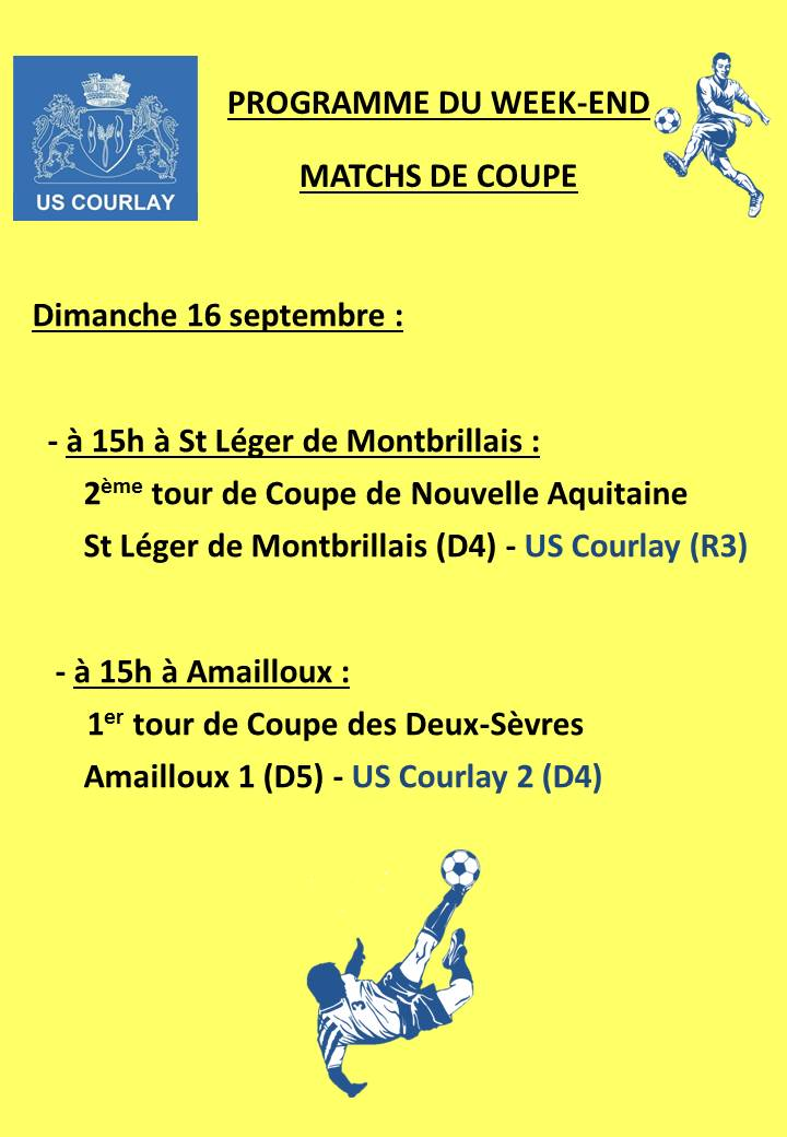 2018_09_13 Matchs_au_programme_du_week_end