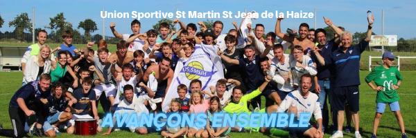 UNION SPORTIVE SAINT MARTIN SAINT JEAN DE LA HAIZE : site officiel du club de foot de ST MARTIN DES CHAMPS - footeo