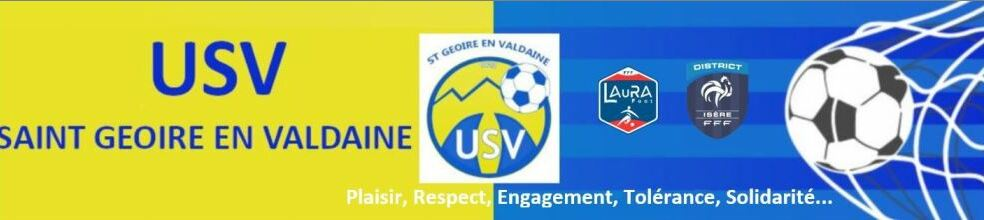 USV FOOT SAINT GEOIRE EN VALDAINE : site officiel du club de foot de SAINT GEOIRE EN VALDAINE - footeo